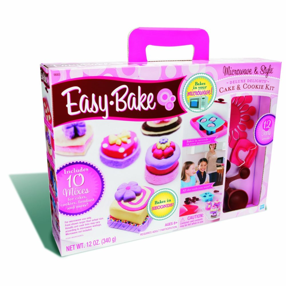 Easy Bake Microwave And Style Deluxe Delights Only 12 89