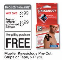 Mueller Kinesiology Strips at Walgreens
