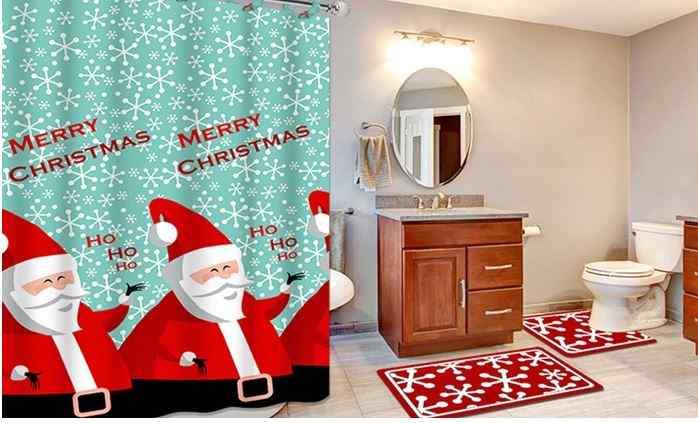 bathroom get the christmas themed bathroom sets 15 piece holiday bath